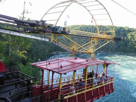 Aero Car bei den Niagara Falls - Niagarafälle / Horseshoe Falls