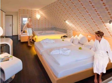 Zimmer bild hotel garni retro design in langeoog for Design hotel niedersachsen