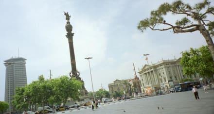 Barcelona - Columbus Denkmal - Kolumbusdenkmal