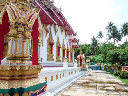 Tempel/Kirche/Grabmal - Wat Suwan Khirikhet