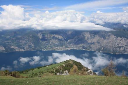 Der Gardasee von oben - Gardasee