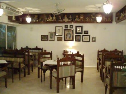 Inneneinrichtung - Regensburger Restaurant (geschlossen)