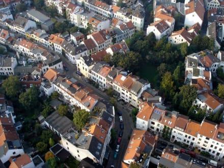 """Das """"Viertel"""" aus der Luft - Ostertor-Viertel"""