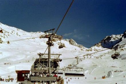 Hier geht´s drunter und drüber - Skigebiet Ischgl
