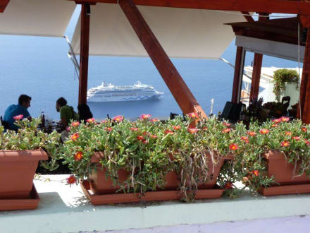 Vulkaninsel Santorin - Insel Santorin
