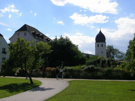 Klostergarten - Altes Schloss & Kloster Herrenchiemsee
