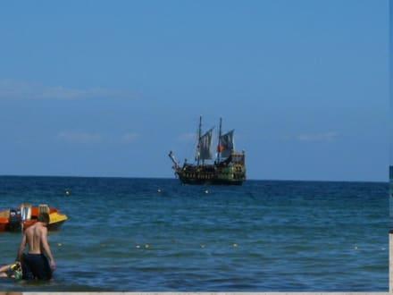 Piratenschiff - Piratenschifffahrt Skanes