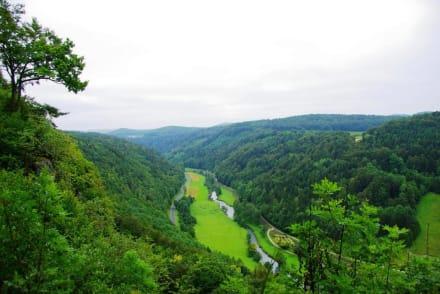 Auf-Abstieg Adlerstein Panorama - Adlerstein