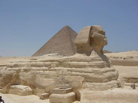 Pyramiden von Gizeh und Sphinx 2003 - Pyramiden von Gizeh