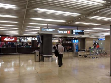 Frankfurt Airport Ankunft Terminal 1