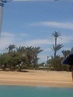 Mobilfunkantenne - Lagunenfahrt durch El Gouna