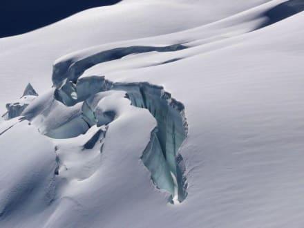 Gletscherspalte - Jungfraujoch