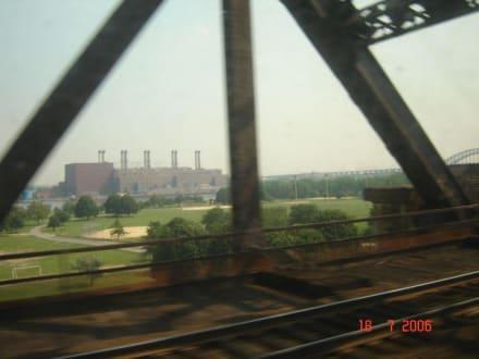 Blick aus dem Fenster - Amtrak Railpass