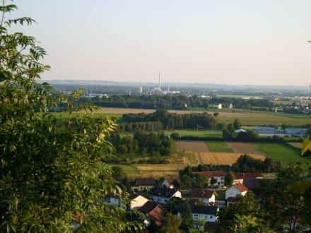 Blick vom Natternberg - Plattling