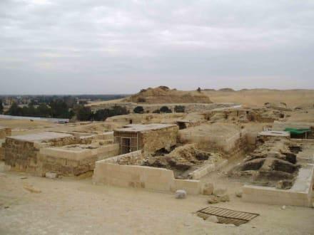 Grabanlagen bei den Pyramiden - Pyramiden von Gizeh