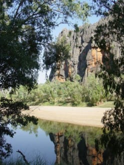 Windjana Gorge Nt. Park - Windjana Gorge
