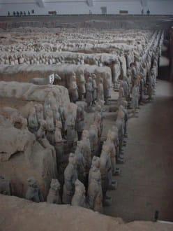 Terracotta-Armee in Xian - Terrakottaarmee