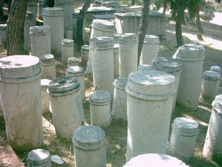 Grabstelen der Sklavengräber - Friedhof Kerameikos
