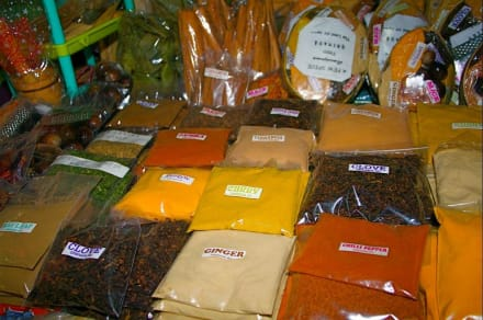 Grenada - Spice Island - Markt von St. Georges