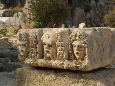 Felsengräber - Felsengräber von Myra