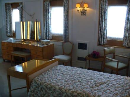 Blick ins Schlafzimmer der Queen - Royal Yacht Britannia