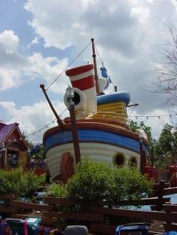 Magic Kingdom, Mickey's Toon Town - Disney World - Magic Kingdom