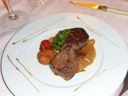 Hauptgang - Hotel Restaurant La Chaumiere