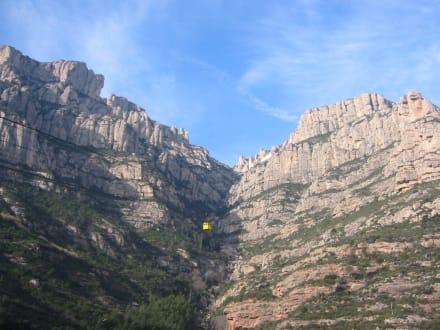 Seilbahn - Kloster von Montserrat