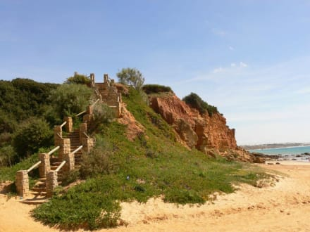 Treppenzugang zur Bucht - Cala del Aceite