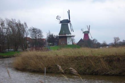 Windmühlen. - Ostfriesland