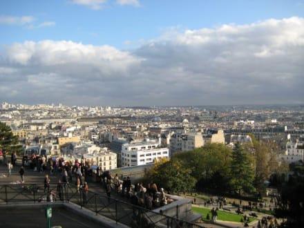 Blick auf Paris - Sacre Coeur