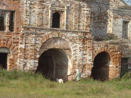 Ruine Abtei Levsnovskoye - Kirchenruine Levsnovskoye Kolomna