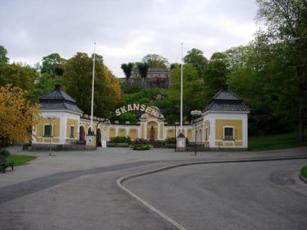 Nebeneingang des Skansenmuseums - Freilichtmuseum Skansen