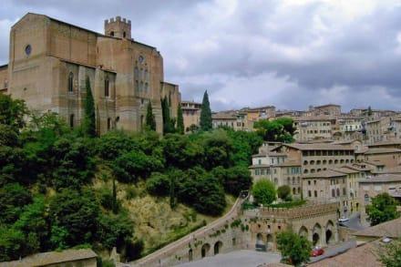 Spaziergang durch Siena - Altstadt Siena