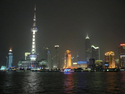 Pudong am Abend! - Pudong