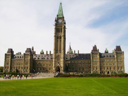das Parlament Kanadas - Parliament Hill