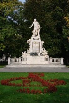 Mozart Denkmal - Hofburg