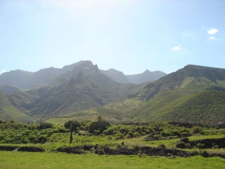 Panorama bei Agaete - Valle de Agaete