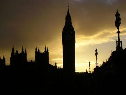 Sonnenuntergang - Big Ben