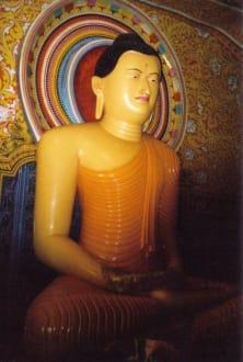 Buddah im Aluthepola Tempel - Aluthepola Tempel