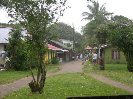 Hauptstrasse Tortuguero-Stadt - Nationalpark Tortuguero