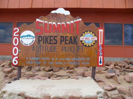 Gifel Pikes Peak 14110FT(4700m) - Pikes Peak