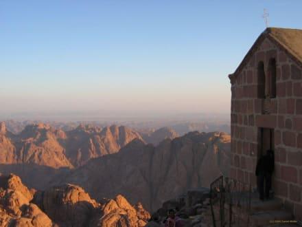 Sonnenaufgang auf dem Mosesberg - Mosesberg (Gebel Musa) / Berg Sinai