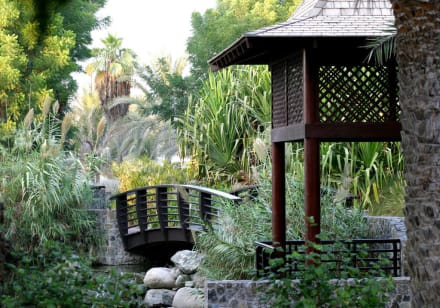 Palm Tree Court Spa Gazebo -