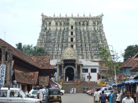 Sri-Padmanabhaswamy-Tempel in Trivandrum - Sri-Padmanabhaswamy-Tempel