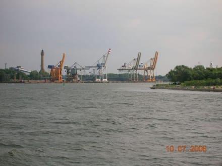 Hafengebiet - Hafen Swinemünde/Swinoujscie