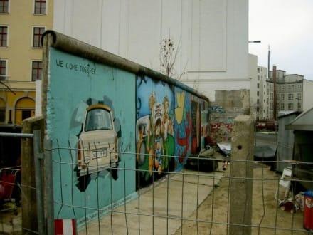 Restmauer Potsdamer Platz - Potsdamer Platz