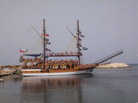 Die Calypso - Bootstour Calypso Colakli