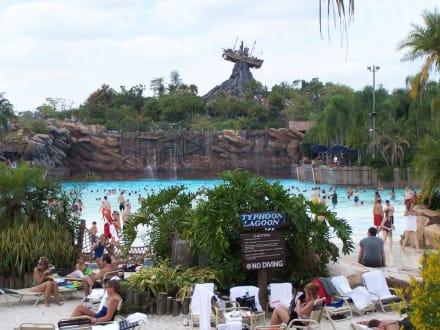 vor der Welle - Disney's Typhoon Lagoon