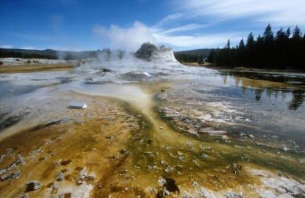 Castle Geyser - Yellowstone Nationalpark